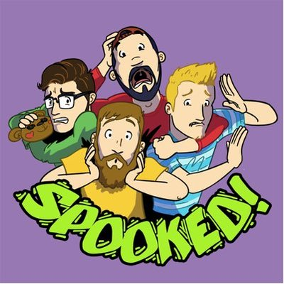 Spooked Podcast Logo