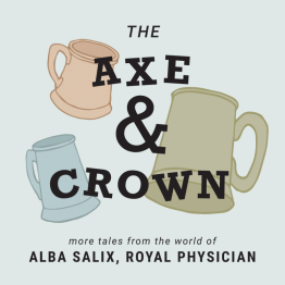 The Axe & Crown Podcast Logo