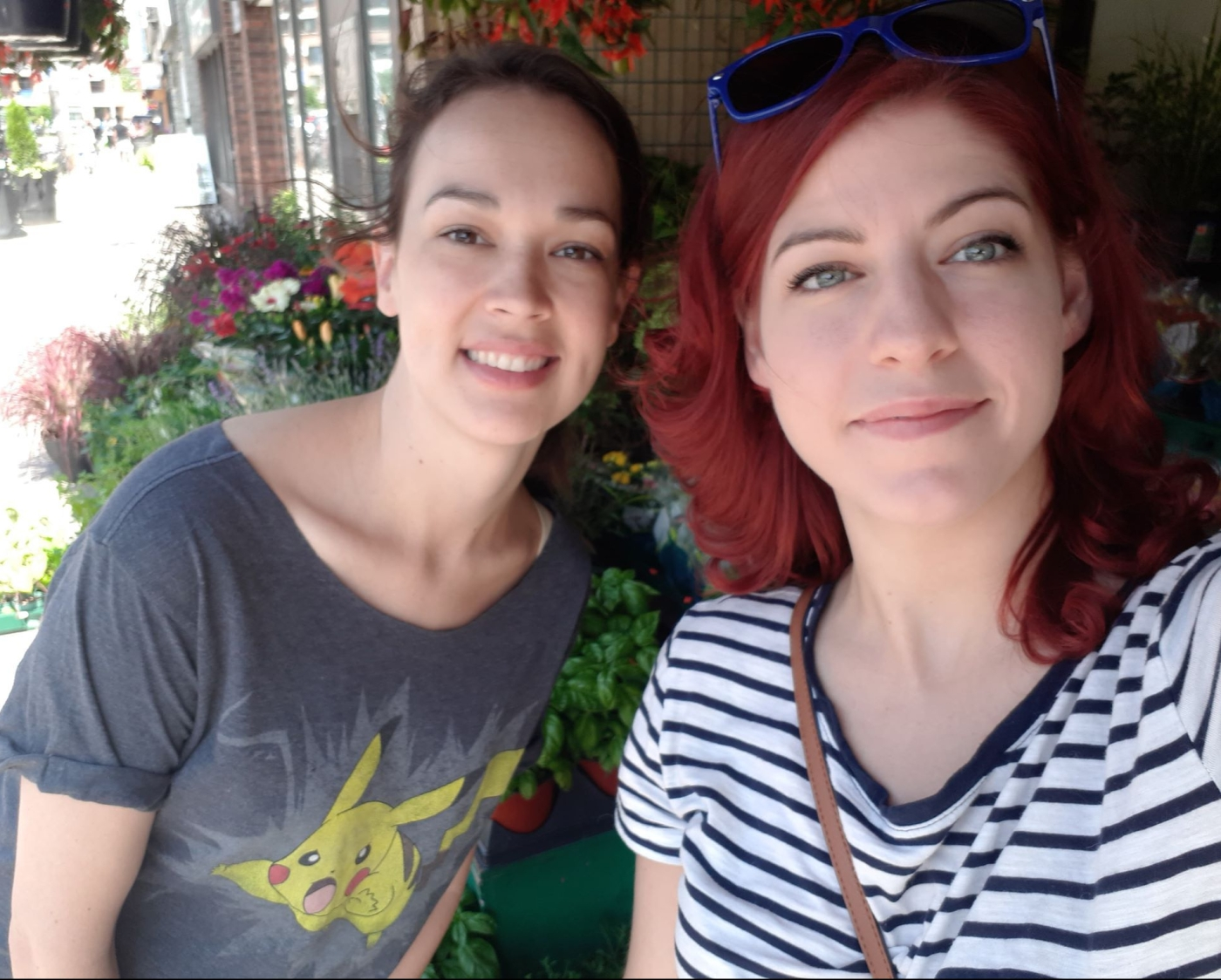 Marianna Miniotis (Pod Creatures) and Shannon Lahaie (Escape Capade Podcast)