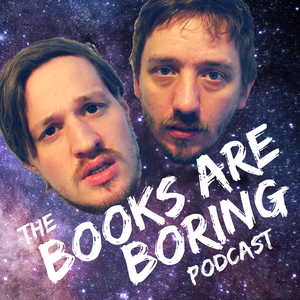 The Books are Boring Podcast Logo