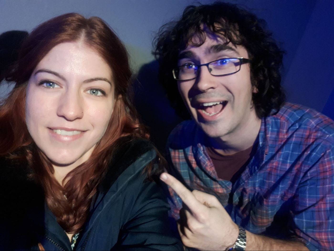 Marianna and Marc Hallworth from Vest of Friends Podcast (Toronto)