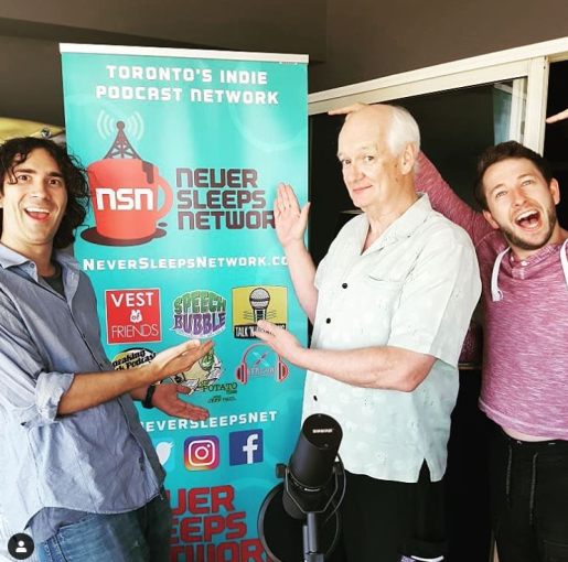 Vest of Friends Podcast with Colin Mochrie, Toronto, Ontario, Canada